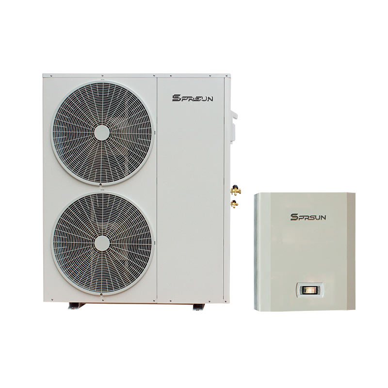 evi split dc inverter heat pump