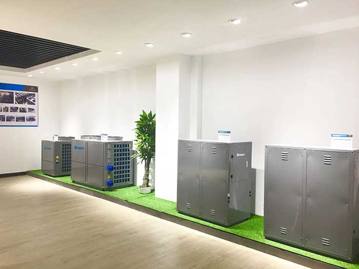 SPRSUN Commercial Heat Pump Showroom