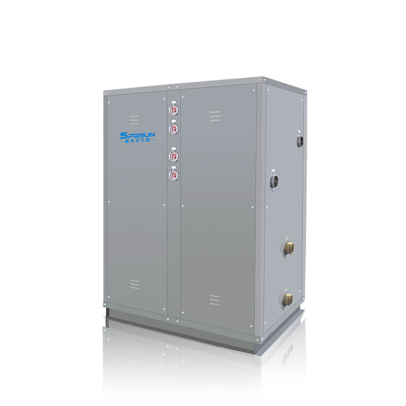 39KW-100KW Commercial Water to Water Open Loop Heat Pump for DHW and Room Heating
