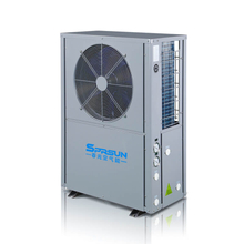 7.5KW 8.5KW 80℃ EVI High Temp Air Source Heat Pump Hot Water Heater