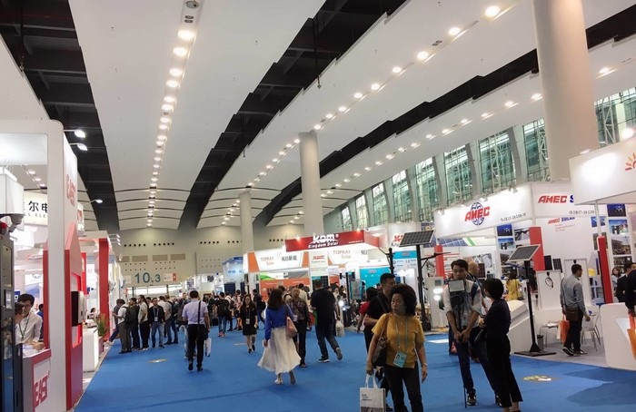 Sprsun during Canton Fair